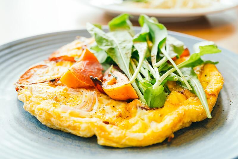 Eierkuchen mit Zucchini - Provitage