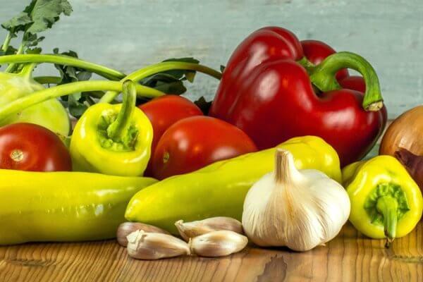 Gemüse Fondue - die ander Art von leckerem Fondue
