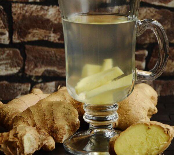 Entgiften mit Ingwer Gurken Zitronen Saft