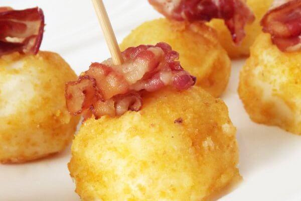Kartoffel Knödel als leichte Mahlzeit zum abnehmen