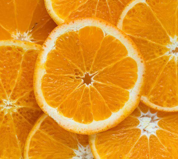 Orangensalat mit Zwiebel