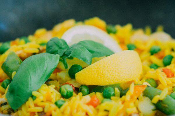 Reissalat zum Schlank bleiben